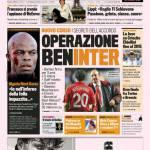 Gazzetta dello Sport: Operazione BenInter