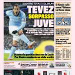 Gazzetta dello Sport: Tevez sorpasso Juve