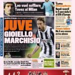 Gazzetta dello Sport: Juve, gioiello Marchisio