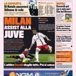 Gazzetta dello Sport: Milan assist alla Juve