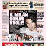 Gazzetta dello Sport: Esclusivo Maldini, il Milan non mi vuole