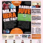 Gazzetta dello Sport: Milan, Ibra ma che fai?