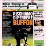 Gazzetta dello Sport: Rischiamo di perdere Buffon