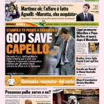 Gazzetta dello Sport: God Save Capello…