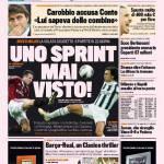 Gazzetta dello Sport: Uno sprint mai visto
