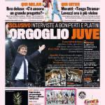 Gazzetta dello Sport: Orgoglio Juve
