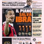 Gazzetta dello Sport: Il piano salva Ibra