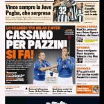 Gazzetta dello Sport: Cassano per Pazzini si fa