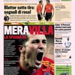 Gazzetta dello Sport: MeraVilla, la Spagna va