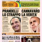 Gazzetta dello Sport: Prandelli, lo strappo