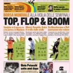 Gazzetta dello Sport: Top, Flop & Boom
