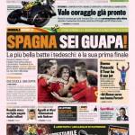 Gazzetta dello Sport: Spagna sei guapa!