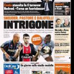Gazzetta dello Sport: INTRIGONE