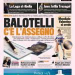 Gazzetta dello Sport: Balotelli, c'è l'assegno