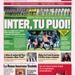 Gazzetta dello Sport: Inter, tu puoi!