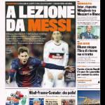 Gazzetta dello Sport: A lezione da Messi