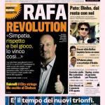 Gazzetta dello Sport: Rafa revolution