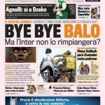 Gazzetta dello Sport: Bye Bye Balo