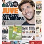 Gazzetta dello Sport: Juve attacco all'Europa