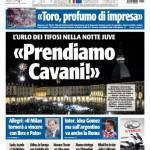 "Tuttosport: ""Prendiamo Cavani"""