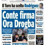 Tuttosport: Conte firma, Ora Drogba