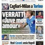 "Tuttosport: Verratti ""Juve mon amour"""