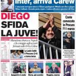 Corriere dello Sport: Diego sfida la Juve