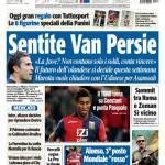 Tuttosport: Sentite Van Persie