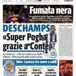 """Tuttosport: Deschamps """"Super Pogba grazie a Conte"""""""