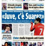 "Tuttosport: ""Juve, c'è Suarez"""