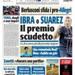 Tuttosport: Ibrahimovic o Suarez il premio Scudetto