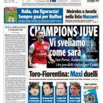 Tuttosport: Champions Juve, vi sveliamo come sarà