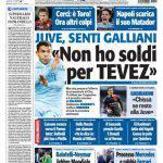 """Tuttosport: Senti Galliani """"Non ho i soldi per Tevez"""""""