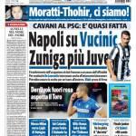 Tuttosport: Napoli su Vucinic, Zuniga più Juve