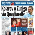 Tuttosport: Kolarov o Zuniga. Via Quagliarella