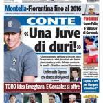 """Tuttosport: """"Una Juve da duri"""""""