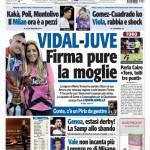 Tuttosport: Vidal-Juve, firma pure la moglie