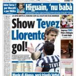 Tuttosport: Show Tevez, Llorente gol