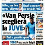 "Tuttosport: ""Van Persie sceglierà la Juve"""