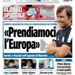 """Tuttosport: """"Prendiamoci l'Europa"""""""