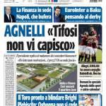 """Tuttosport: Agnelli """"Tifosi non vi capisco"""""""