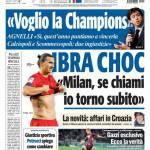 "Tuttosport: Ibra choc ""Milan, se chiami torno subito"""