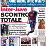 Corriere dello Sport: Inter-Juve scontro totale