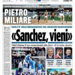 Tuttosport: Sanchez, vieni