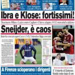Corriere dello Sport: Sneijder, è caos
