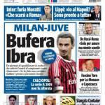 Tuttosport: Milan-Juve, bufera Ibra