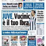 Tuttosport: Juve, Vucinic è il tuo Ibra