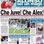 Corriere dello Sport: Che Juve! Che Alex!