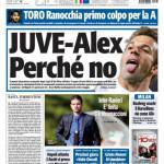 Tuttosport: Juve-Alex, perchè no