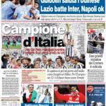 Corriere dello Sport: Campione d'Italia